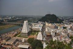 Srikalahasti temple, Andhra Pradesh. Srikalahasti Shiva temple, Andhra Pradesh, India stock image