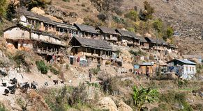 Srikot village stock images