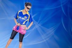 Srilanka chiaring girl Royalty Free Stock Photo