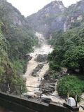 Ella waterfall stock image