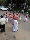 Srilanka kandyan taniec Obrazy Stock