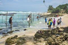 Srilanka turystyka Zdjęcie Royalty Free