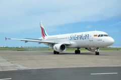 SriLankan Airlines Airbus A320 Stock Images