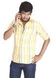 Srilankan Boy On white background Stock Photography