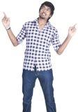 Srilankan Boy On white background Stock Photos