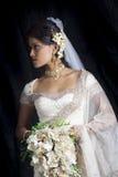 Srilankan bride Royalty Free Stock Images