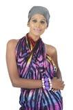 Srilankan fashion girl Stock Photo