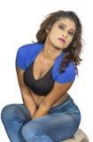 Srilankan girls closeup Royalty Free Stock Photography