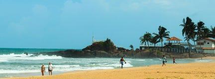 Srilankan havskust royaltyfri bild