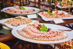 Srilankan hotelvoedsel Royalty-vrije Stock Afbeelding