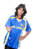 Srilankan model Royalty Free Stock Photo