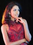 Srilankan model Royalty Free Stock Image