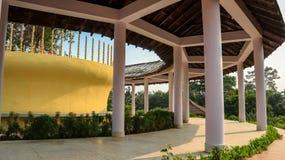 Srilankan monaster w Lumbini zdjęcia royalty free