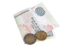 Srilankan money Royalty Free Stock Image