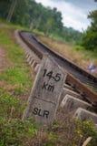 Srilankan Old ralway track Stock Image