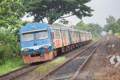 Srilankan old train Stock Image