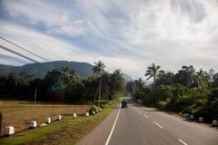 Srilankan road Royalty Free Stock Image