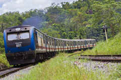 Srilankan Train Stock Images