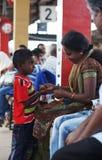 Srilankesiskt folk Fotografering för Bildbyråer