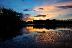 Srimuang Park i yalaen, thailand Royaltyfria Foton