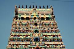 Srimushnam - Kleurrijke Tempeltoren royalty-vrije stock fotografie