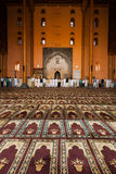 Srinagar Jama Masjid Prayer Hall People Praying V Stock Photography