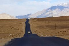 Srinagar krajowe autostrady zdjęcia stock