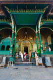 Srinagar Shah E Hamdan Mosque Front Entrance Royalty Free Stock Photo