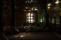 Srinagar Shah E Hamdan Mosque Inside Praying H Royalty Free Stock Photography
