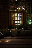 Srinagar Shah E Hamdan Mosque Interior Praying V Royalty Free Stock Images