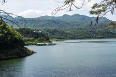 Srinagarind水坝 库存照片