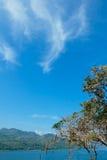 Srinagarind水坝 图库摄影