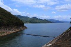 Srinakarin dam stock photo