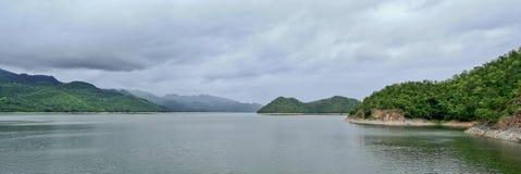 Srinakarin dam in kanchanaburi, thailand. Srinakarin dam in kanchanaburi province, thailand Royalty Free Stock Photography