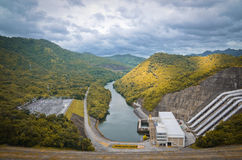 Srinakarin Dam Royalty Free Stock Photography