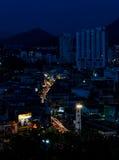 Sriracha night cityscape Stock Image