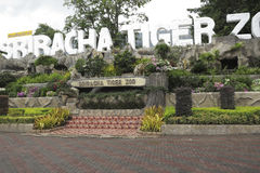 Sriracha Tiger Zoo Lizenzfreie Stockfotos