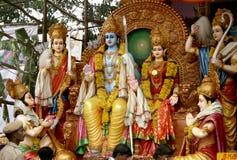 Srirama - Hindoese god Royalty-vrije Stock Foto's