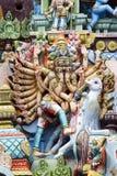 Srirangam - Тамильский язык Nadu - Индия Стоковые Фотографии RF
