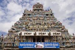 Srirangam cerca de Tiruchirapalli - Tamil Nadu - la India imagen de archivo libre de regalías