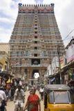 Srirangam - Tamil Nadu - India. Ranganatha Hindu Temple complex at Srirangam near Tiruchirapalli in the Tamil Nadu region of southern India Stock Images