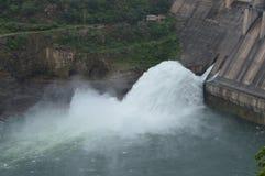 Srisailam dam, Andhra Pradesh, India Stock Photography