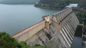 Srisailam dam landscape view, Andhra Pradesh, India Stock Photography