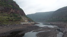 Srisailam dam view, Andhra Pradesh, India Royalty Free Stock Photos