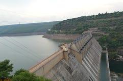 Srisailam dam, Andhra Pradesh, India Stock Image