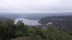 Srisailam dam view, Andhra Pradesh, India Royalty Free Stock Images