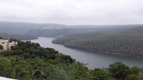 Srisailam Krishna river landscape view, Andhra Pradesh, India Stock Photography