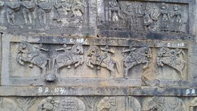 Srisailam temple sculpture, Andhra Pradesh, India Stock Photos