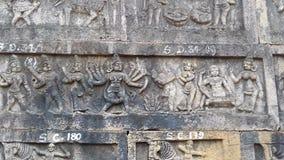 Srisailam temple sculpture, Andhra Pradesh, India Stock Photography