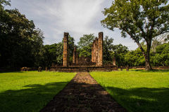 Srisatchanalai historical park in Sukhothai province, Stock Photography